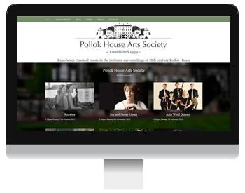 Pollok House Arts Society Screenshot