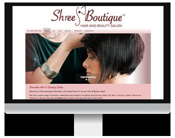 Shree Boutique Hair and Beauty Salon Screenshot