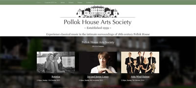 Police house arts society screenshot