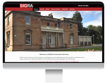 SIGRA construction screenshot
