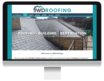 JWD Roofing Screenshot